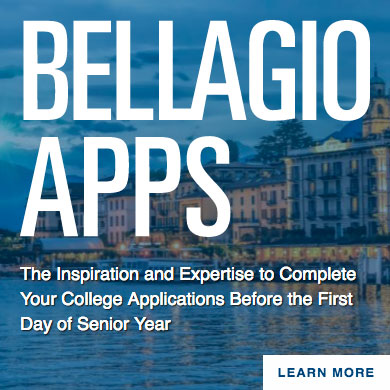 Also Consider Craig's Summer College Application Completion Retreat in Italy
